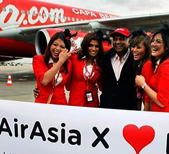 The Chennai-based AirAsia India will start out with three Airbus jets and plans to add 10 additional planes each year.