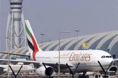 An Emirates aircraft