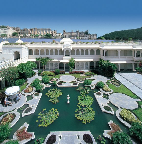 Taj Lake Palace.