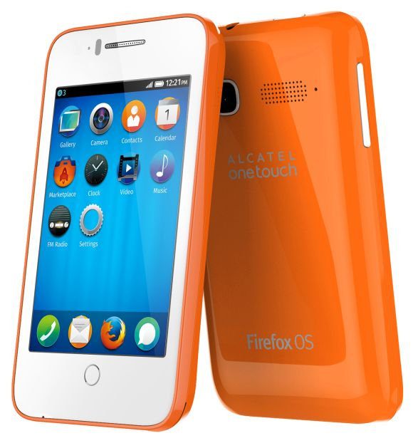 Alcatel OneTouch device with Firefox OS.