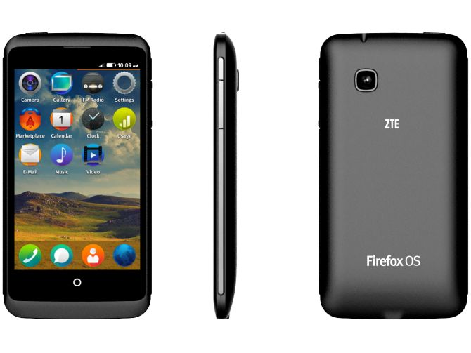 ZTE device with firefox OS.