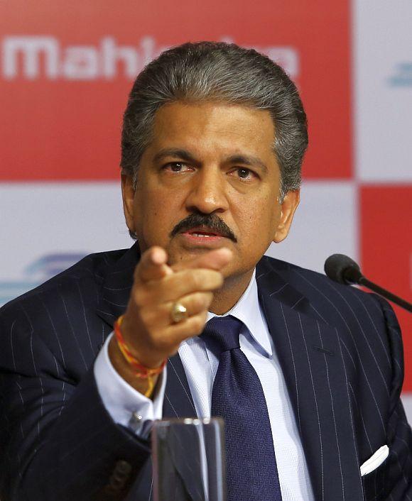 Anand Mahindra, chairman of Mahindra & Mahindra.