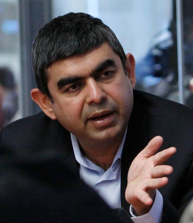 The 47-year old technocract Vishal Sikka (new CEO of Infosys) is considered to be a visionary.
