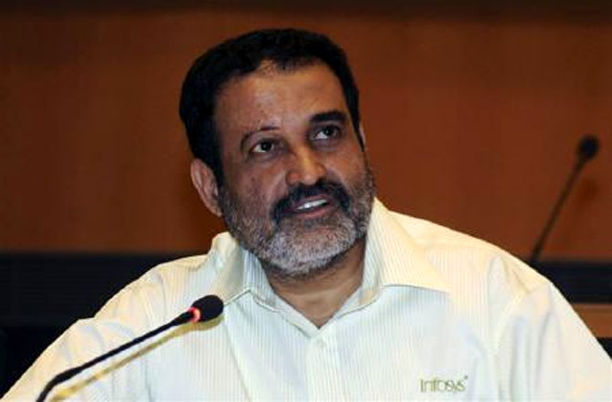 Mohandas Pai said that he was hopeful that Sikka's appointment could turn things around for the firm.