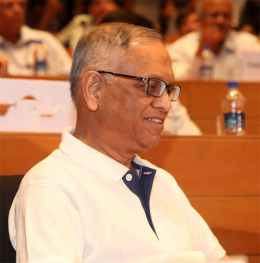 Murthy makes last appearance as Infosys chairman