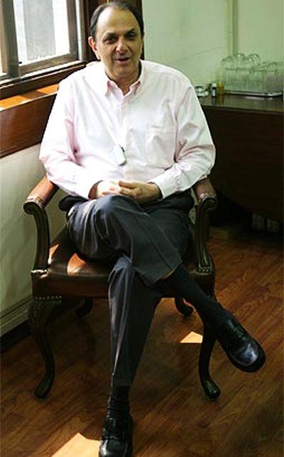Bombay Dyeing Chairman Nusli Wadia.