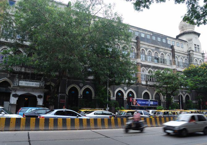 TOI Building, Mumbai.