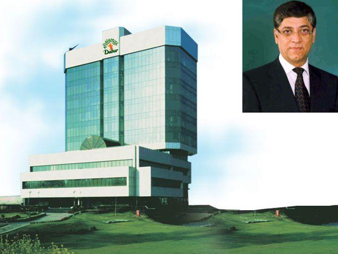 In the inset: Dabur Chairman Anand Burman.
