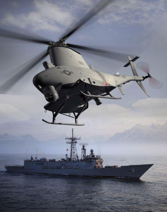 MQ-8B Navy Fire Scout.