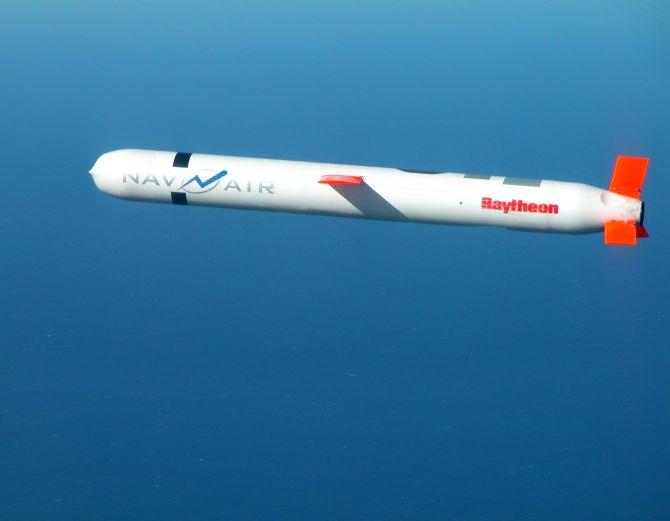 Tomahawk Cruise Missile.