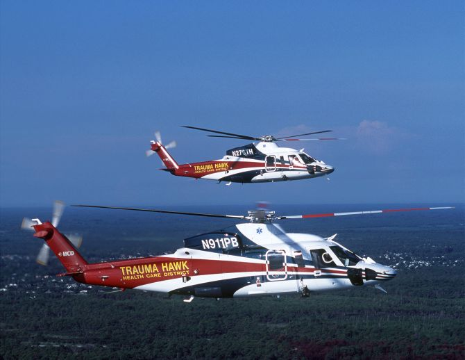 S-76C+ Trauma Hawk