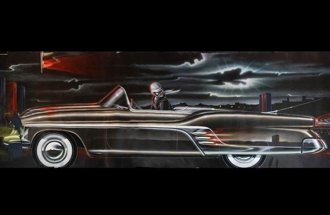 Cadillac Convertible Concept Car.