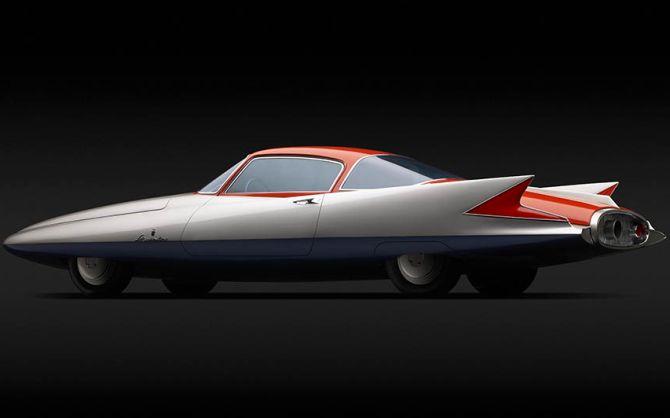 Chrysler (Ghia) Streamline X 'Gilda'.