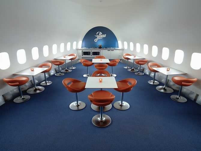 This Boeing Jumbo Jet is an amazing hotel!