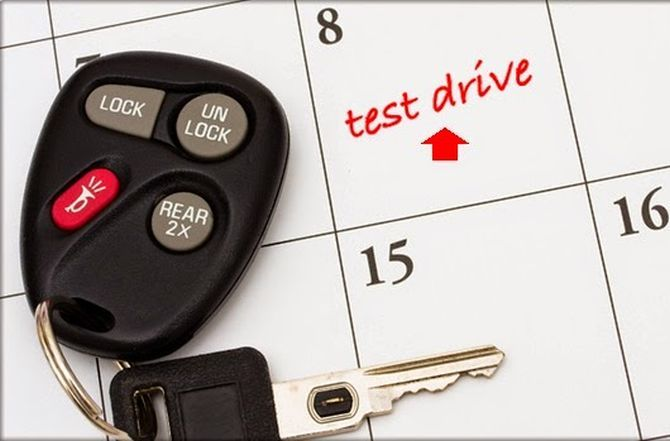 5 things to know before you test drive a car