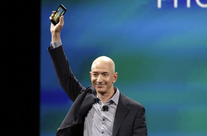 Amazon Chief Executive Jeff Bezos.
