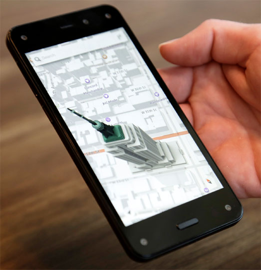 Amazon's 3D 'Fire' phone