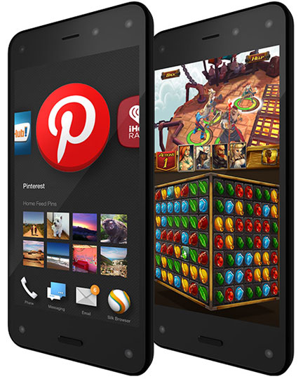 Amazon unveils 3D 'Fire' phone