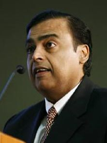 RIL chief Mukesh Ambani
