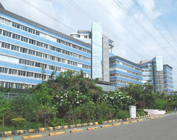 G Block at B-K-C which houses the Bharat Diamond Bourse.