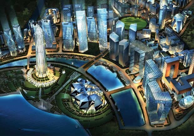 GIFT city has two components of development - domestic financial centre and international financial services centre.