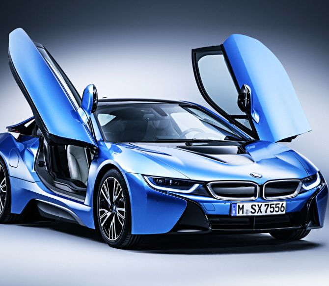 Bmw I8 The Best Electric Car In The World Rediff Com Business