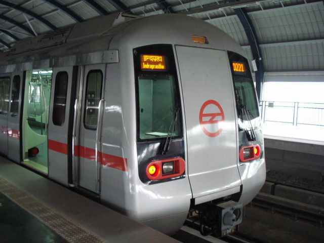 New Delhi Metro.