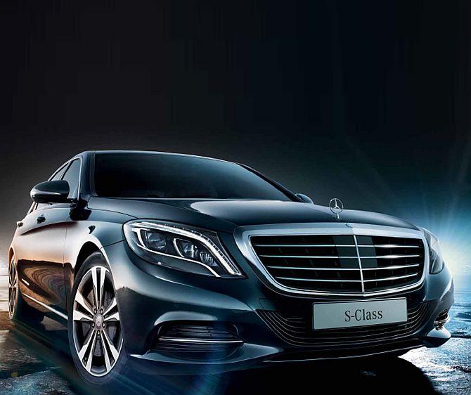 Mercedes Benz S Class.