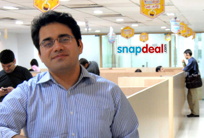 Kunal Bahl, co-founder and CEO of Snapdeal.
