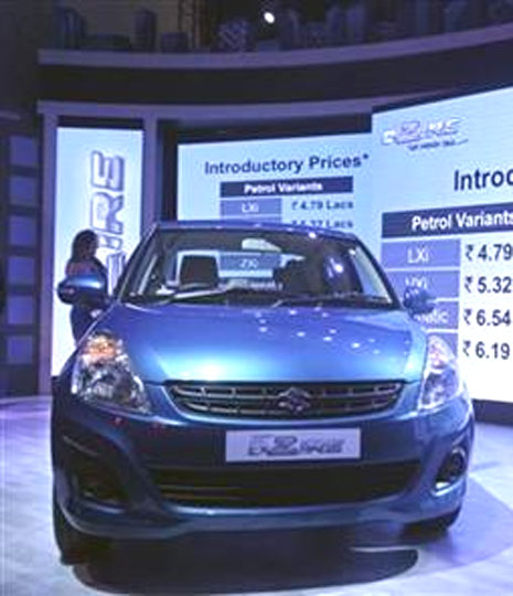 Prices of the Maruti Suzuki's Desire were slashed post Budget.