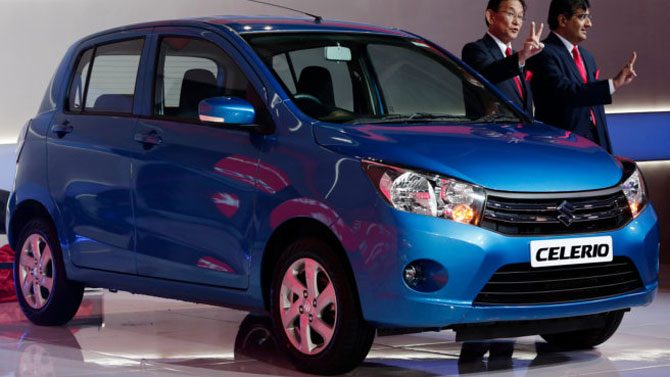 Maruti drives in new small car Celerio at Rs 3.9 lakh.