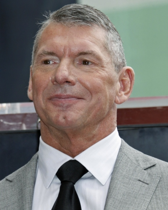 WWE Chairman and CEO, Vince McMahon.