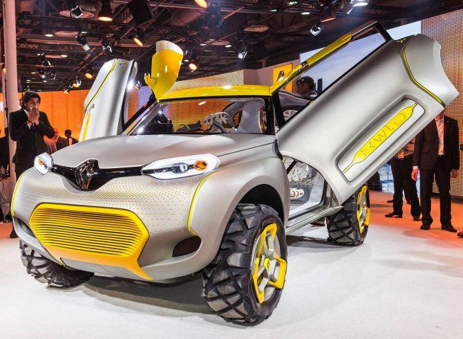 Renault Kwid.