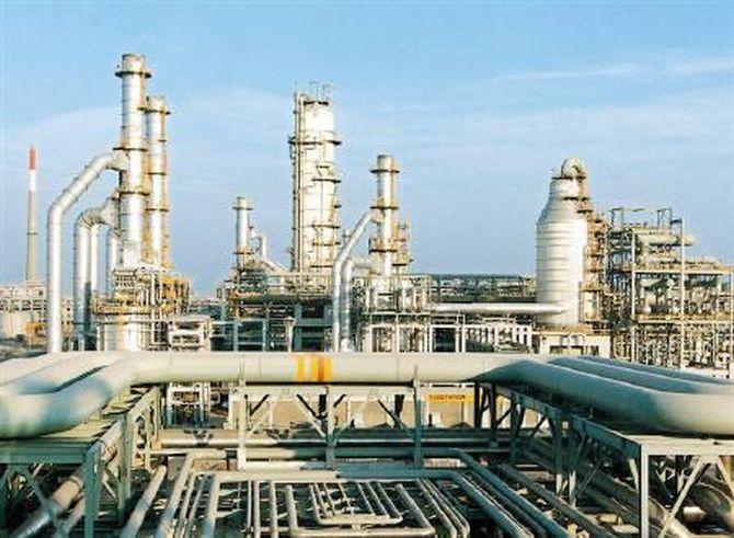RIL complex petrochemical refinery in Jamnagar,Gujrat