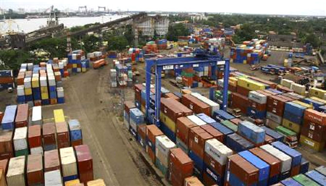 Merchandise trade deficit contracted by around 43 per cent to $33.2 billion.