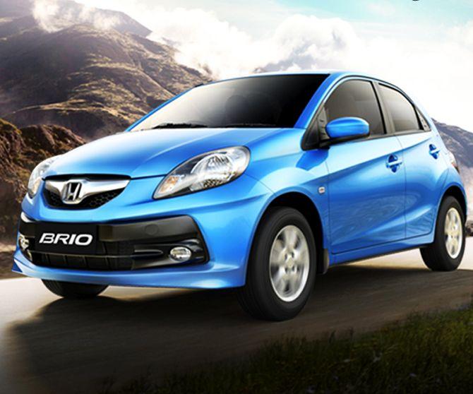 Honda Brio.