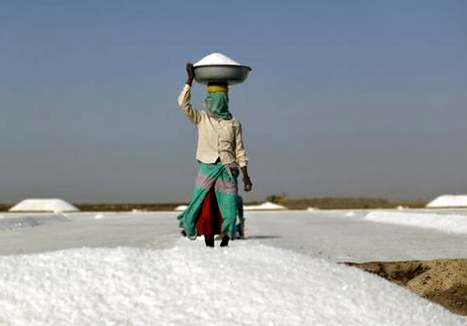 The making of salt in India