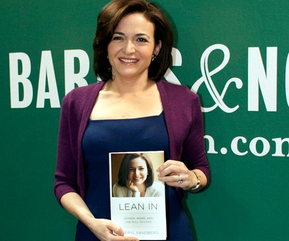 Sheryl Sandberg, a self-made billionaire