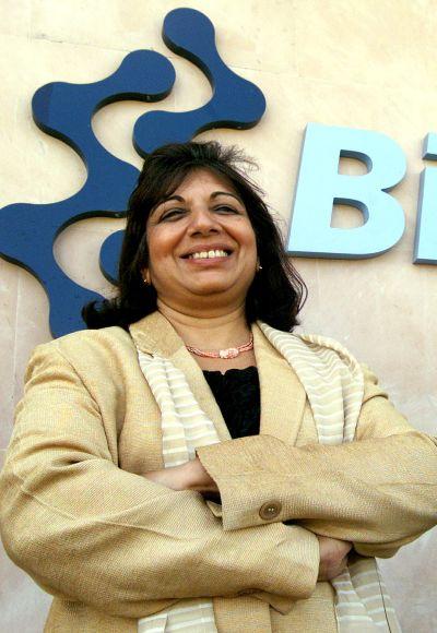 Biocon's CMD Kiran Mazumdar-Shaw.