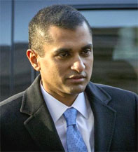 Mathew Martoma was convicted for his role in the most lucrative insider trading scheme in US history. Photograph: BRENDAN MCDERMID/Reuters