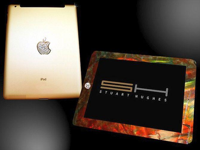 Stuart Hughes' Gold History Edition iPad.