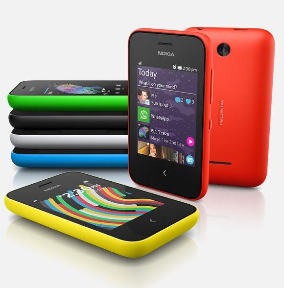 Nokia Asha smartphones.