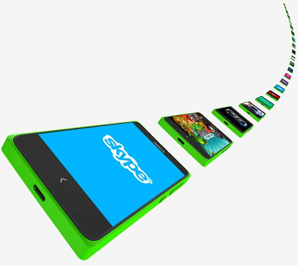 Nokia X Android smartphone.