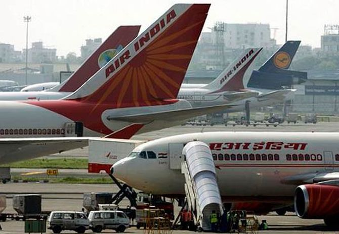 Air India has suffered highest loss of Rs 5,490 crore in 2012-13.