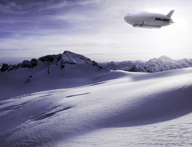 This football field-sized airship can revolutionise travel