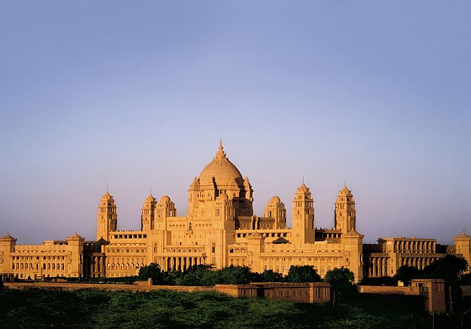 Umaid Bhawan Palace.