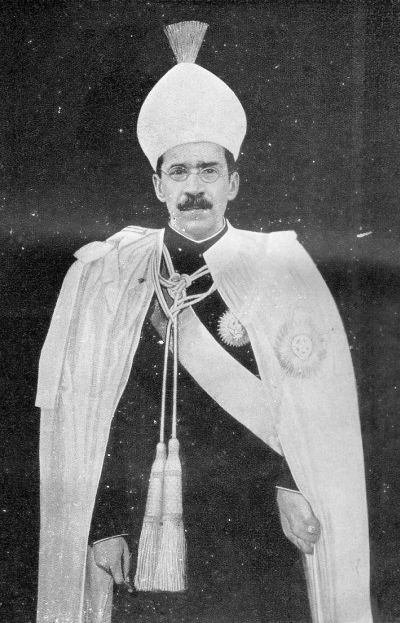 Mir Osman Ali Khan.