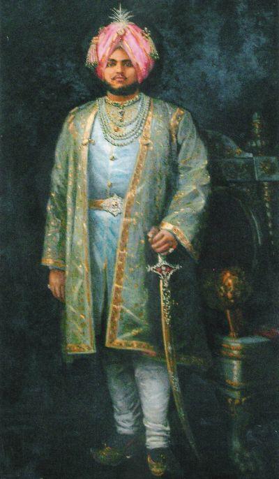 Jagatjit Singh Bahadur, Maharaja of Kapurthala.