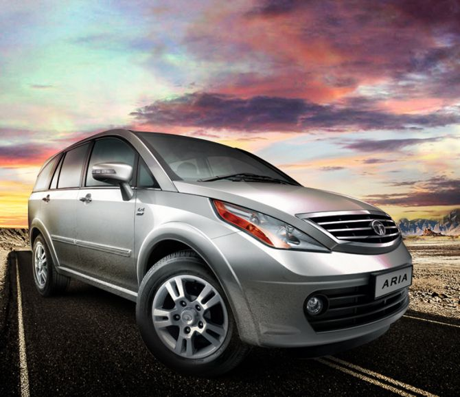 All-new Tata Aria launched at Rs 9.95 lakh - Rediff.com ...