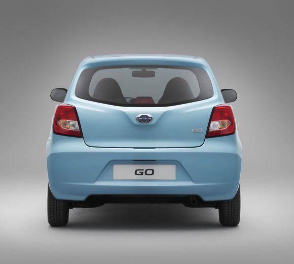 Datsun Go hatch.